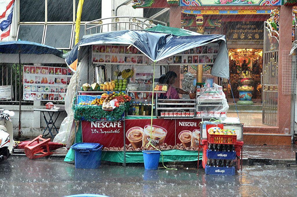 August Regenzeit Bangkok